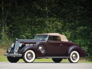 Packard 120 Convertible Coupe 1937 года